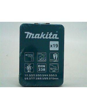 ชุดดอกสว่าน เงิน 19Pcs D-54053 Makita