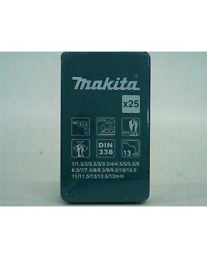 ชุดดอกสว่าน ดำ 25Pcs D-54128 Makita
