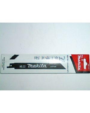 ใบจิ๊กซอว์ตัดเหล็ก #22 5Pcs 792147-1 Makita