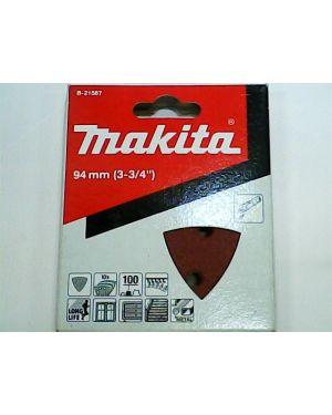 กระดาษทรายขัดไม้เก่า #100 10Pcs B-21587 Makita