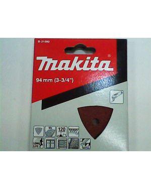 กระดาษทรายขัดไม้เก่า #120 10Pcs B-21593 Makita