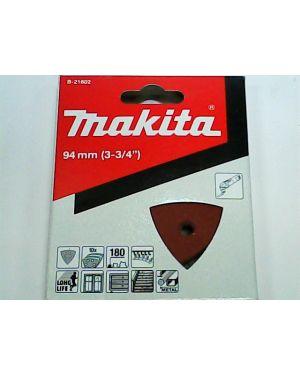 กระดาษทรายขัดไม้เก่า #180 10Pcs B-21602 Makita