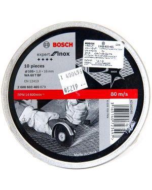 """ใบตัดสเตนเลส 4"""" #465 10Pcs Bosch"""