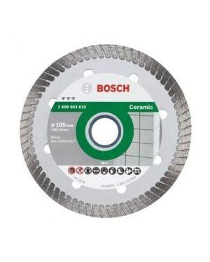"""ใบเพชรตัดกระเบื้อง Turbo 4"""" #610 Bosch"""