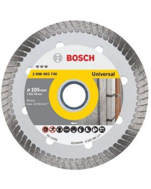 """ใบเพชรตัดUniversal Turbo 4"""" #740 Bosch"""