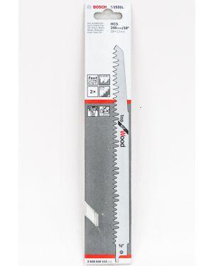 ใบเลื่อยอเนกประสงค์ For Wood 2Pcs S1531L Bosch