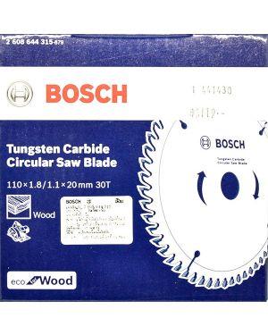 """ใบเลื่อยวงเดือน ตัดไม้ Eco 4"""" 30T Bosch"""