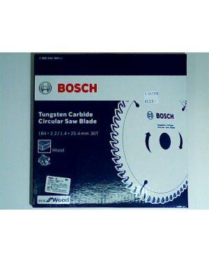 """ใบเลื่อยวงเดือน ตัดไม้ Eco 7 1/4"""" 30T Bosch"""