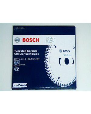 """ใบเลื่อยวงเดือน ตัดไม้ Eco 7 1/4"""" 40T Bosch"""