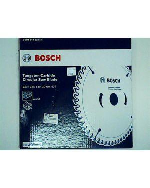 """ใบเลื่อยวงเดือน ตัดไม้ Eco 9 1/4"""" 40T Bosch"""