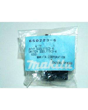 Switch SGEL115CD-4 ใหม่ 6501(12) 650223-6 Makita