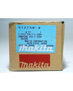 ทุ่นไฟฟ้า JN3200 JS3200 512758-4 Makita