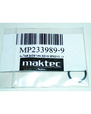 Ring Spring 14 MT870(6) 233989-9 Makita