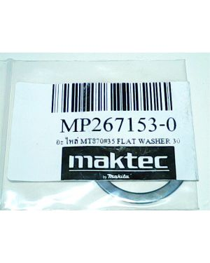 Flat Washer 30 MT870(35) 267153-0 Makita
