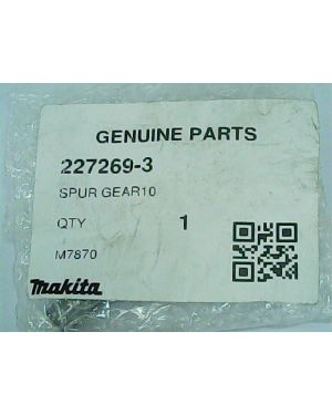 Spur Gear 10 MT870(56) 227269-3 Makita