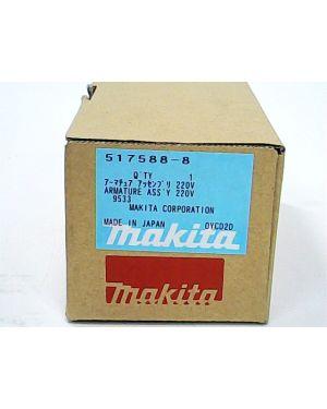 ทุ่นไฟฟ้า 9533BL 9533 9533B 517588-8 Makita