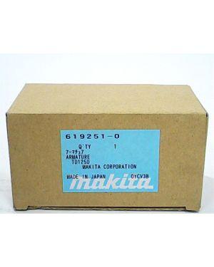 ทุ่นไฟฟ้า BTD143 TD125D 619251-0 Makita