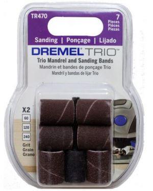 """ปลอกขัดกระดาษทรายพร้อมแกน 1/2"""" TR470 Dremel"""