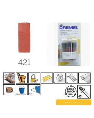 ผงขัดเงา 421 CN Dremel