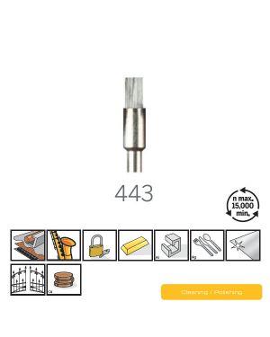 """แปรงคาร์บอน 1/8"""" 443 US Dremel"""