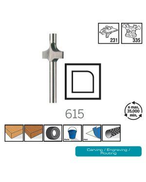 ดอกเซาะร่องแกน 3.2mm 615 CN Dremel
