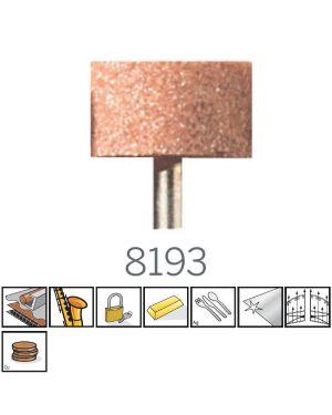 หินเจียร์ AL Oxide 15.9mm 8193 TW Dremel