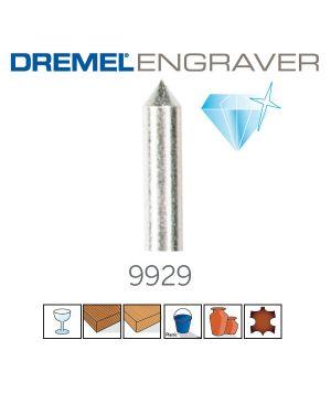 ดอกแกะสลักหัวเพชร 9929 US Dremel