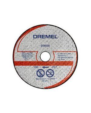 """ใบตัดอิฐมวลเบา 3"""" 3Pcs 520 TW Dremel"""