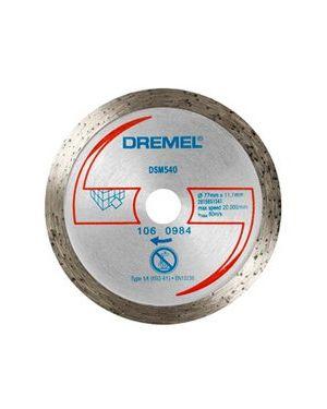"""ใบเพชรตัดกระเบื้อง 3"""" 540 CN Dremel"""