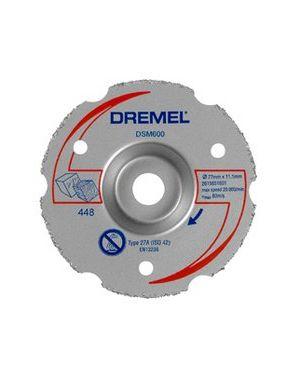 """ใบตัดไม้และพลาสติกปรับระนาบ 3"""" 600 US Dremel"""