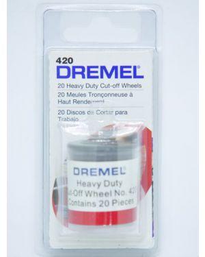 """ใบตัด 1 1/4"""" 20Pcs 420 Dremel"""