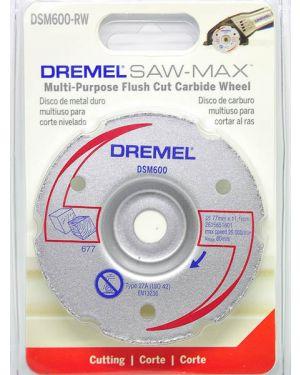 """ใบตัดไม้และพลาสติกปรับระนาบ 3"""" 600 Dremel"""