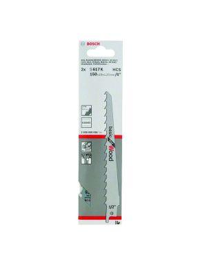 ใบเลื่อยอเนกประสงค์ 2Pcs S617K Bosch