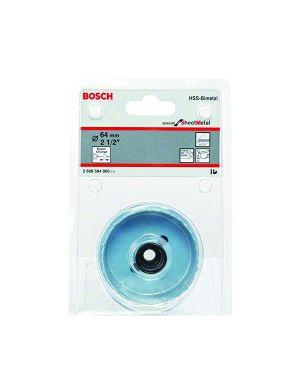 """ถ้วยเจาะ 64mm 2 1/2"""" #800 Bosch"""